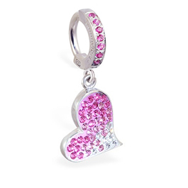 TummyToys® Paved Swarovski Heart