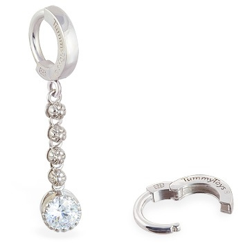 TummyToys® Flower Chain Navel Ring. Belly Rings Australia.