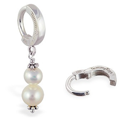 TummyToys® Freshwater Pearl Belly Ring